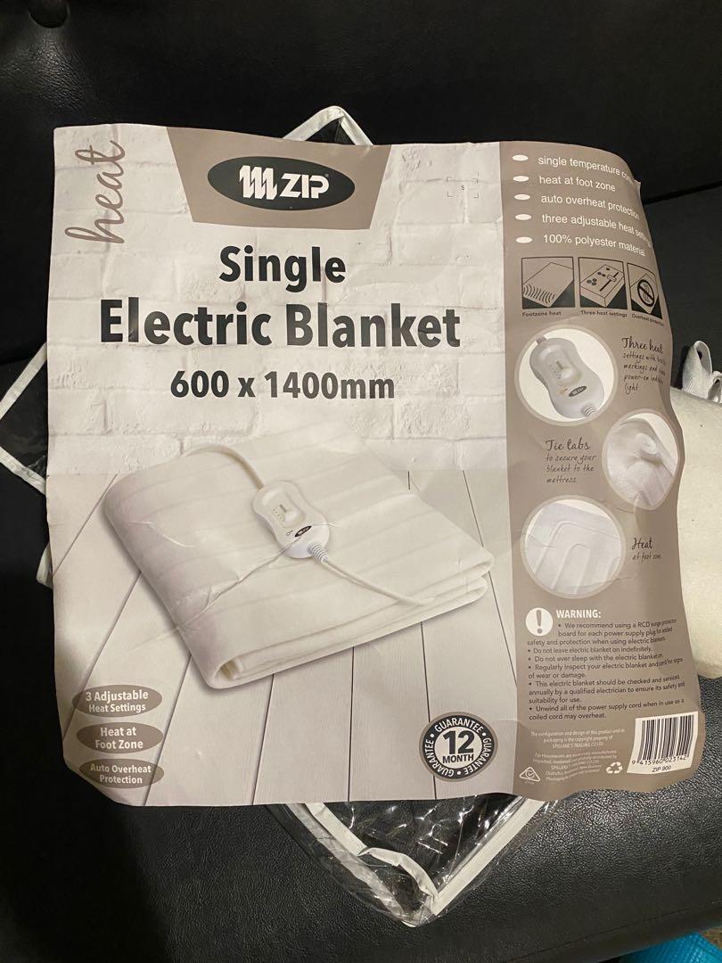 Single electric blanket 600*1400mm