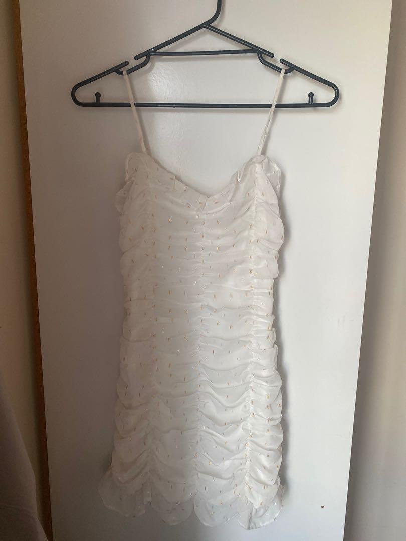 Size 6 Glassons ruched dress