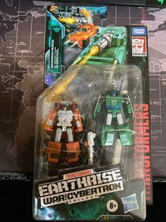 Transformers Earthrise: WFC Trilogy Bombshock and Decepticon Growl