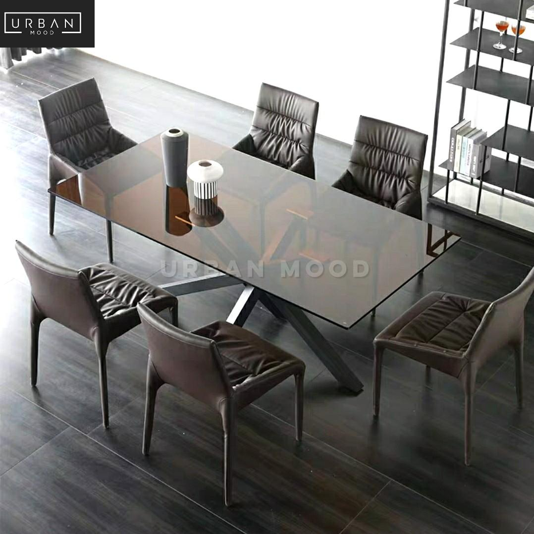 Vitro Modern Glass Dining Table Chairs Furniture Tables Chairs On Carousell