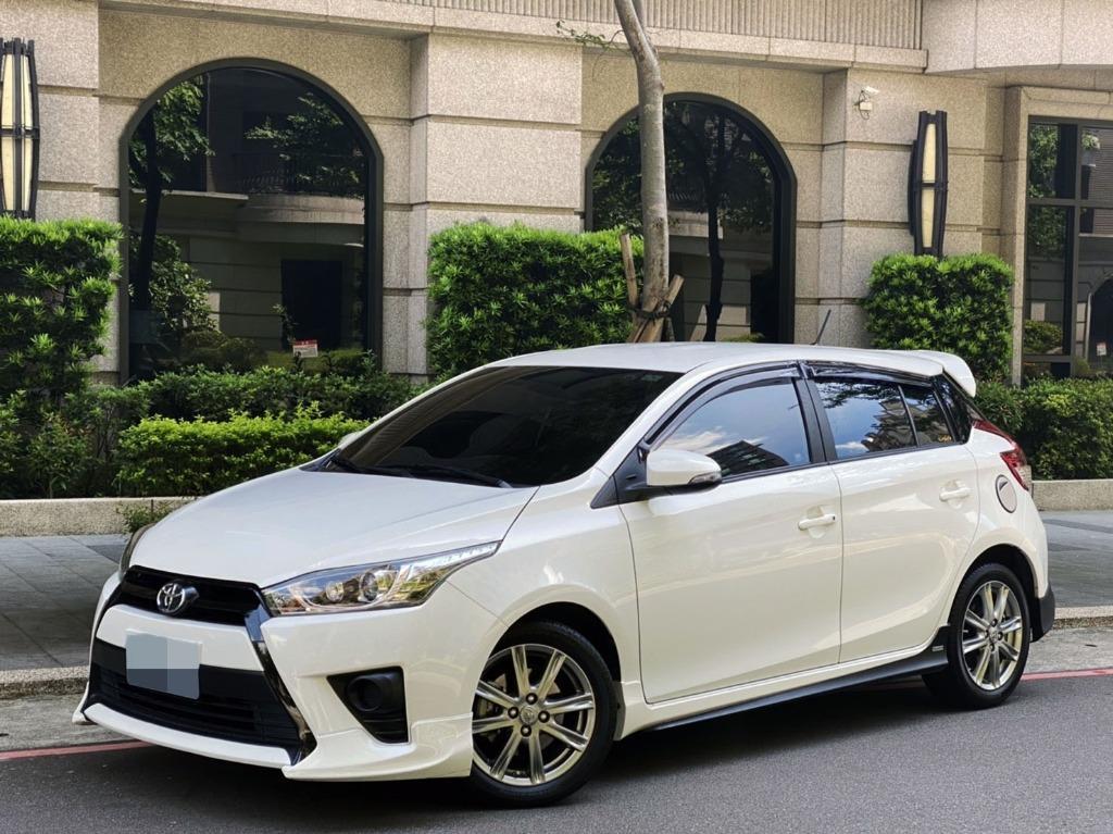 YARIS S版 一手車 只跑2萬 空力套件 中出尾管 5門小車 省稅省油 好保養 維修便宜 好停車