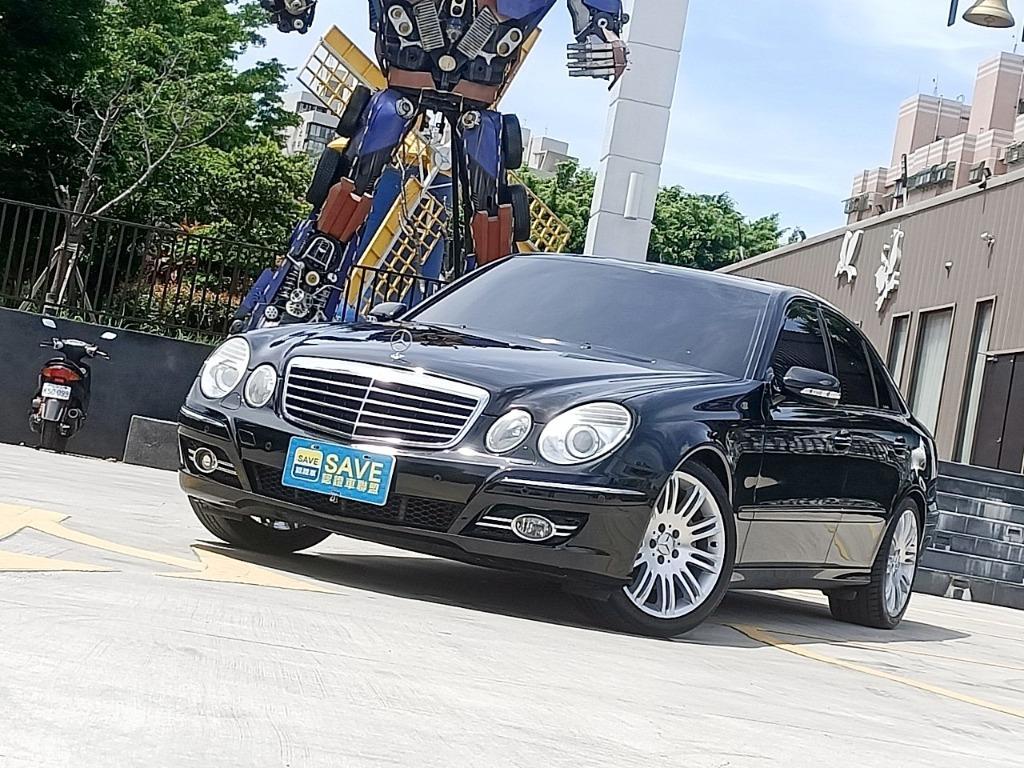 車價377 一手車 僅跑八萬 超少開 一年只跑五千 2006年 BENZ E350 V型6缸 7速手自排