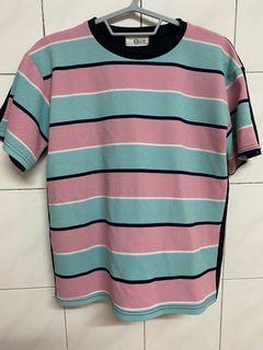 韓國購入  條紋上衣