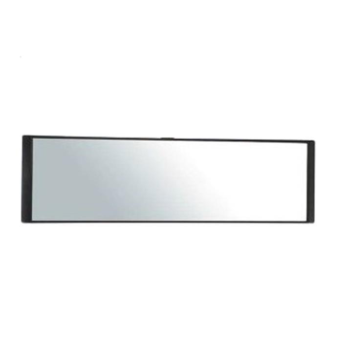 權世界@汽車用品 日本CARMATE 平面黑框車內後視鏡 平面鏡 高反射鏡 250mm M51