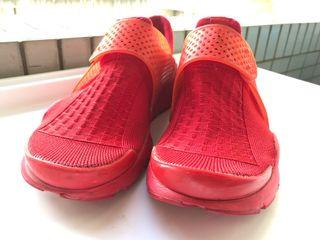 nike 襪套 sock dart 運動鞋 個性紅