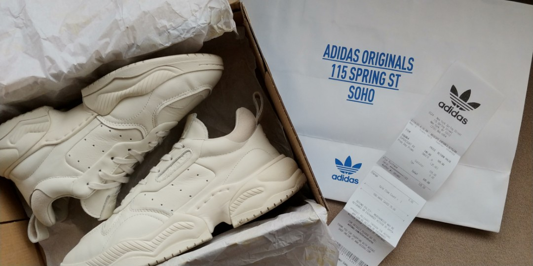 Adidas Supercourt RX Offwhite Size 9.5