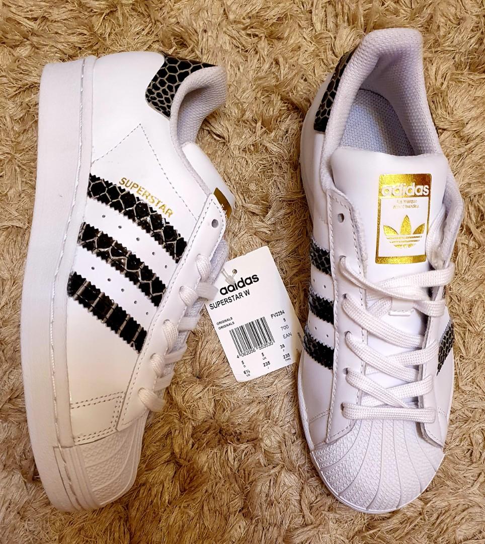 Adidas Superstar Snakeskin size 6.5 US