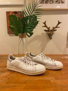 Adidas White and Grey Stan Smith Sneakers Runners