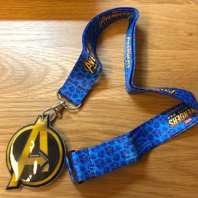復仇者聯盟Avengers 掛脖子吊牌、手機掛繩(限量)#GIVE