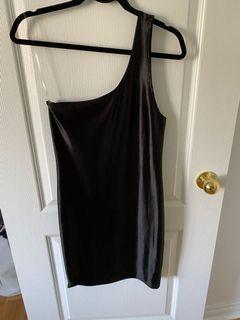 Black Dress One shoulder