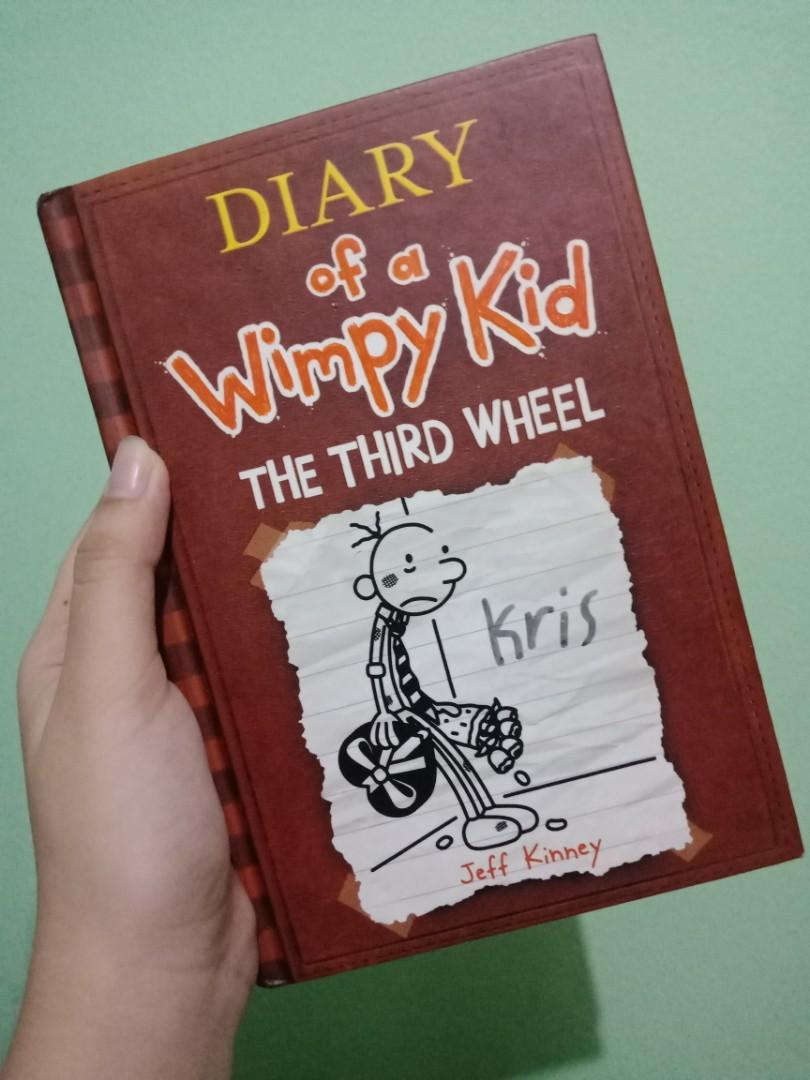 Diary Of A Wimpy Kid The Third Wheel Books Books On Carousell