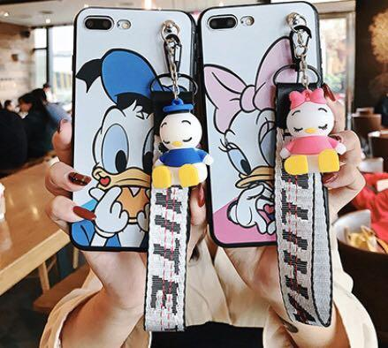 Disney - Donald and Daisy Duck Apple iPhone case
