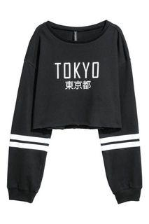 H&M Cropped Tokyo Long Sleeve