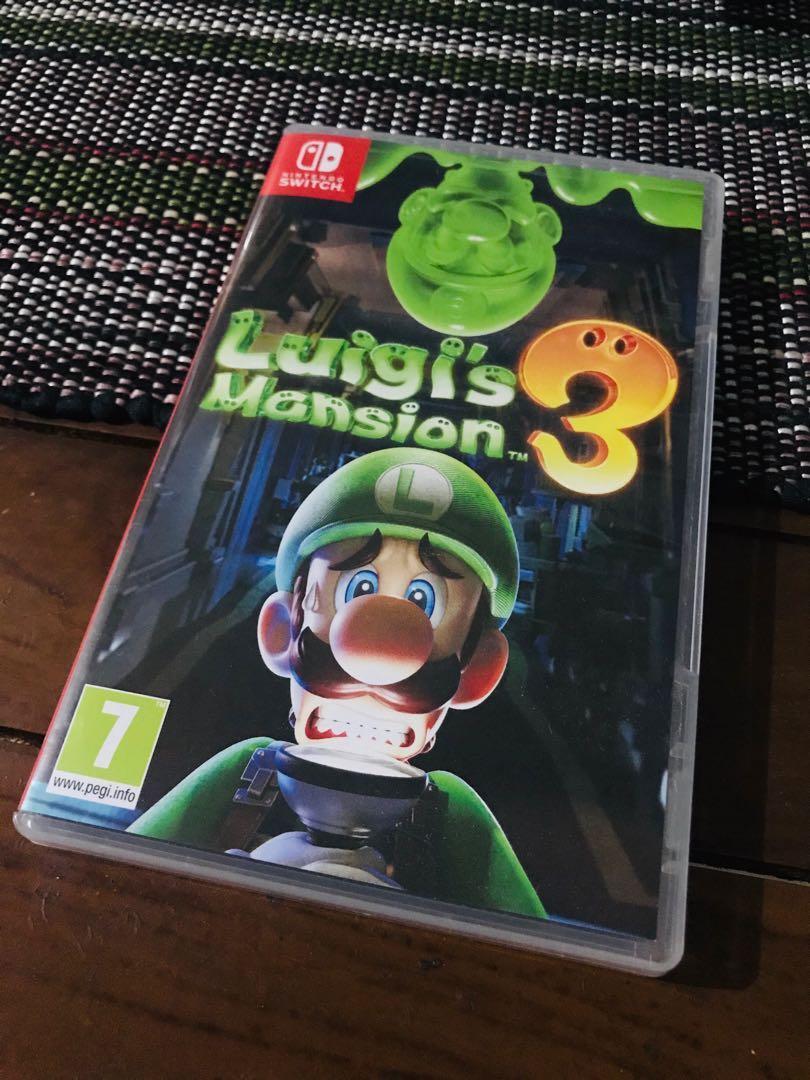 Luigi Mansion 3