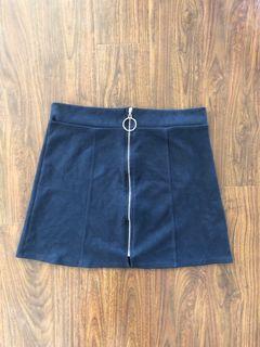 M Boutique size L suede skirt