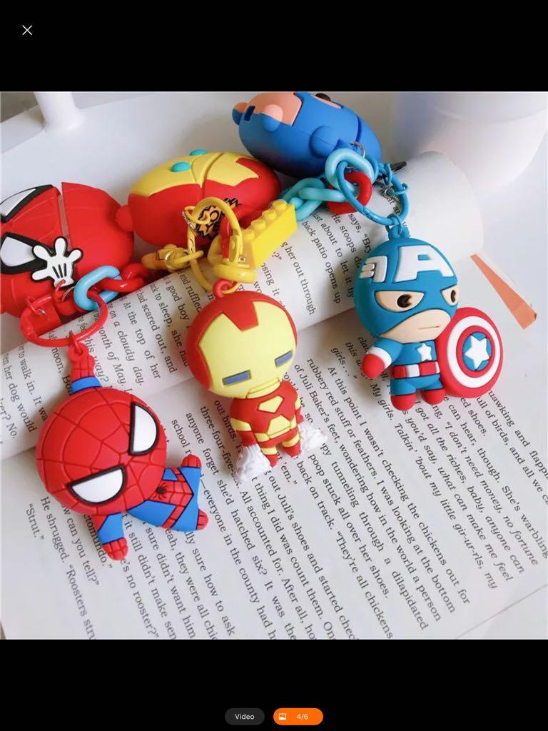 Marvel Avengers AirPod Pro Case (New) - High quality 3D silicone