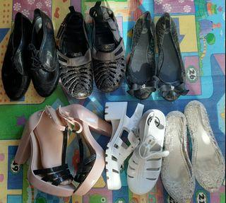 Melissa and Jelly Shoes and sandals all size 7