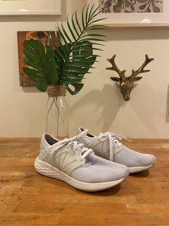 New Balance Women's Freshfoam Cruz v2 Running Shoes Sneakers White/Silver