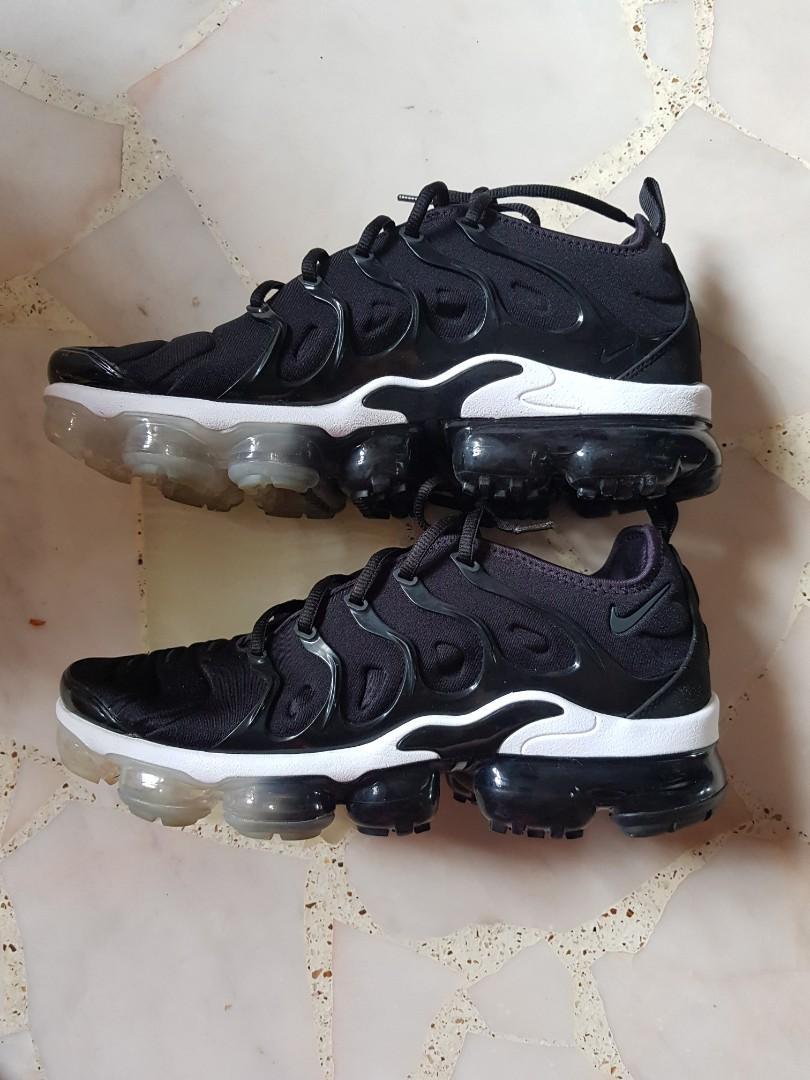 Nike Vapormax Plus Black, Men's Fashion