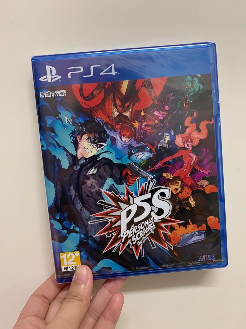 (全新)PS4 女神異聞錄5 亂戰:魅影攻手