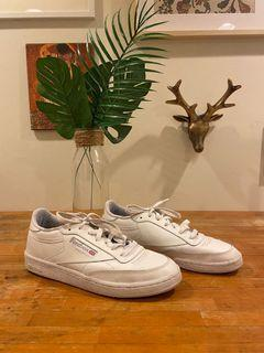 Reebok Club C 85 White Leather Sneaker Runners Shoes