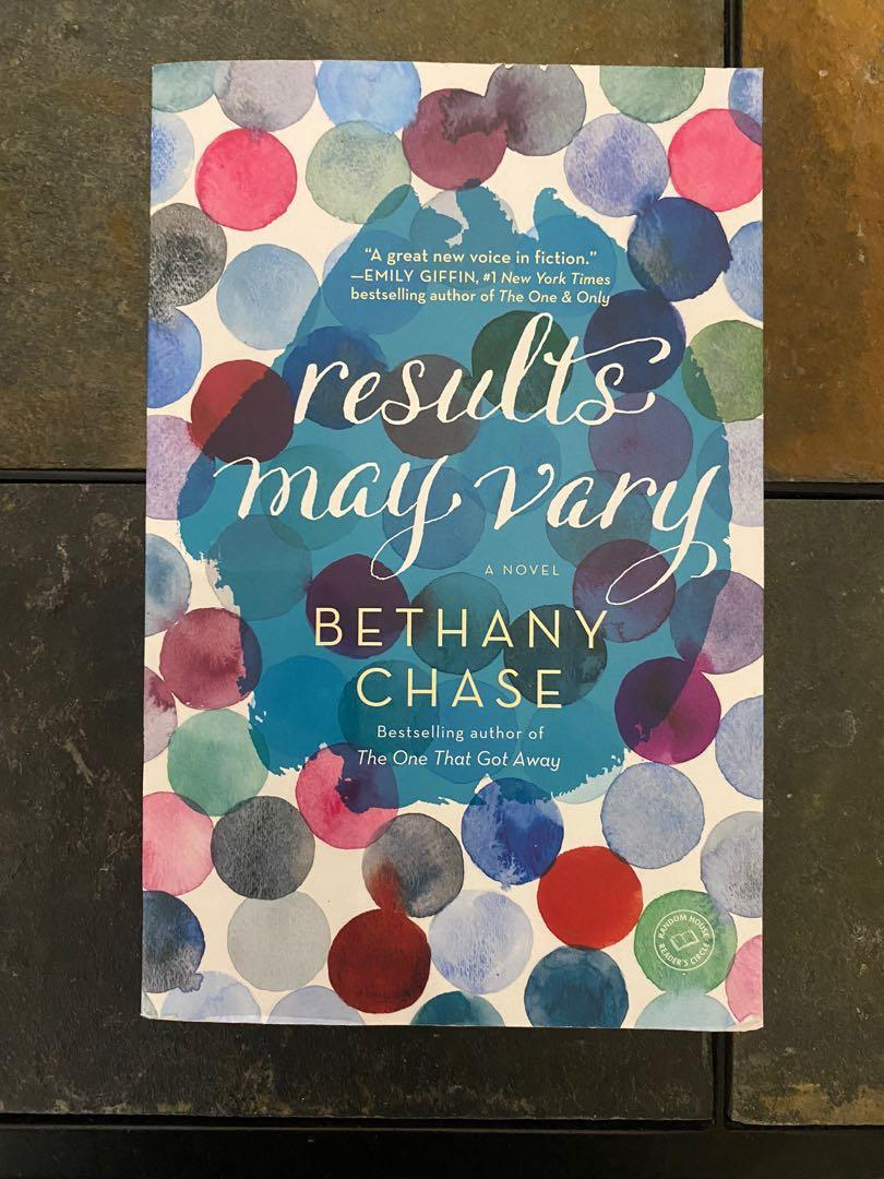 Results May Vary- Bethany Chase