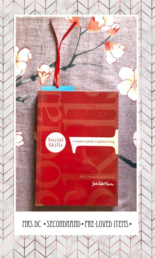 Social Skills By John Robert Powers Books Books On Carousell