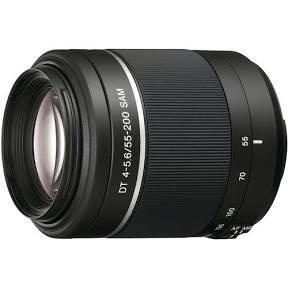 Sony telephoto lens SAL55200