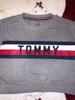 Tommy crop long sleeves
