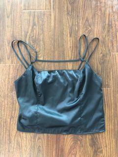 Urban outfitters satin top size M