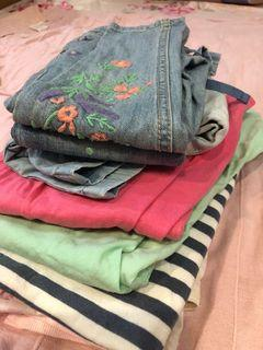 Urgently! Relocation! Dresses, tops, bottoms for girl 3-6 yo