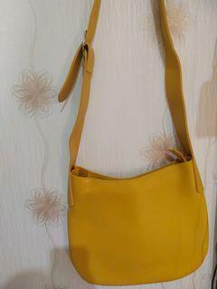 Yellow Sling Bag