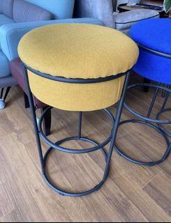 3 fabric bar stool