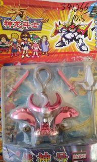魔神英雄傳 正版授權 電鍍色匙扣 戰神號 戰神丸 邪虎號