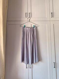 Gray Cullote Pants