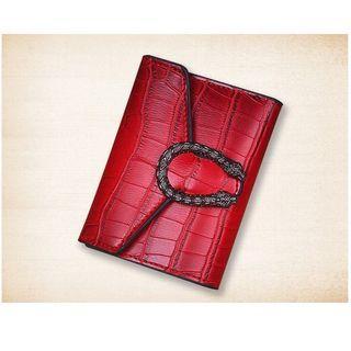 preliked Men Faux Leather Folded Zipper Short Wallet Business Coin Cards Cash Slots Purse