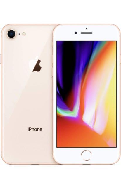IPHONE8 ROSE GOLD 64G TELUS