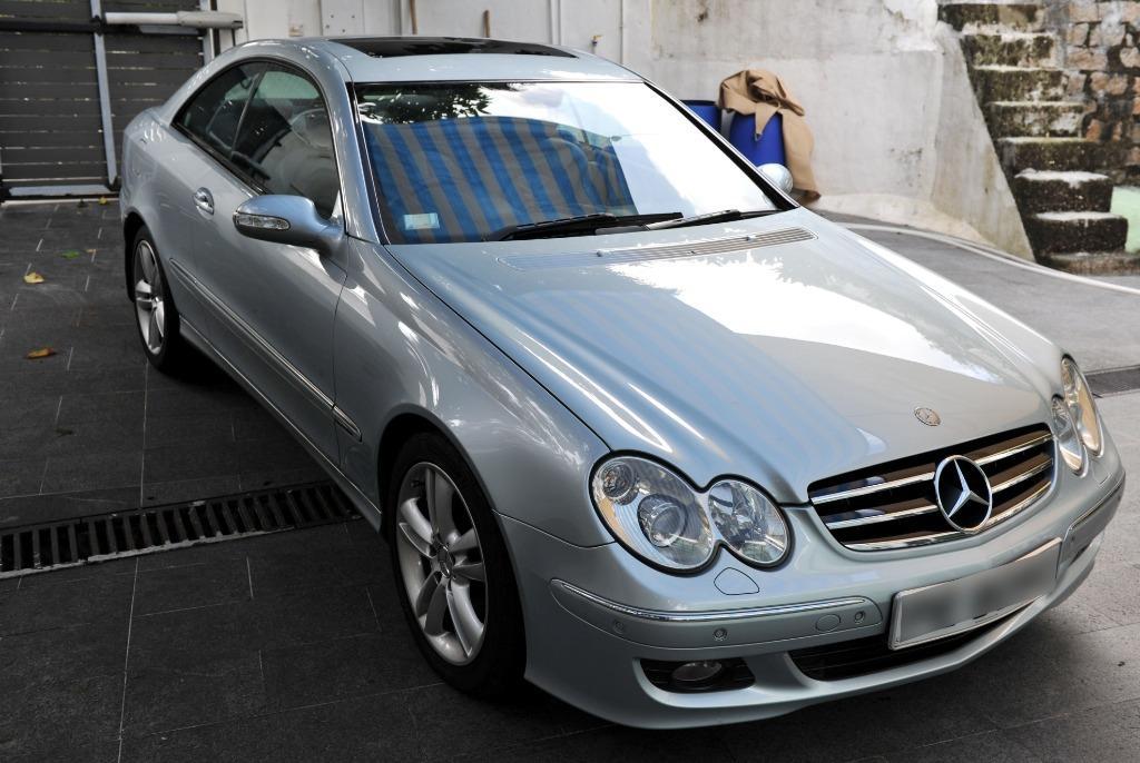 Mercedes-Benz CLK280 Coupe (A)