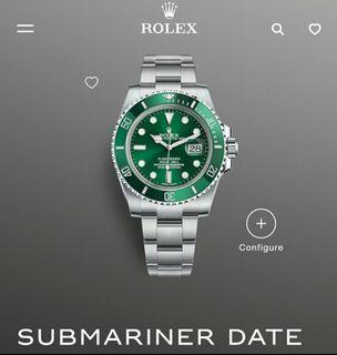Rolex Submariner 116610LV The Hulk