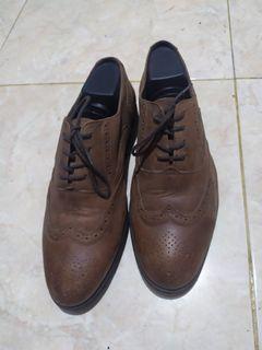 Sepatu Kulit Tandy Marshall Brogue Original Leather Asli