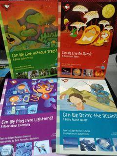 Set of 4 Adarna Science books