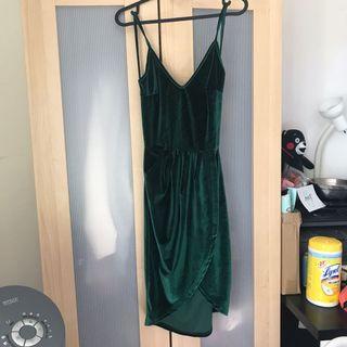 Shein Velvet Backless Dress (S)