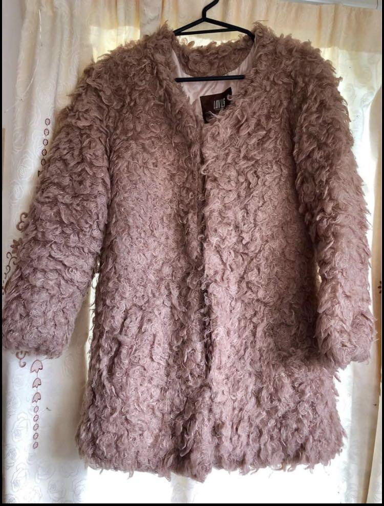 Teddy Coat (wool blend)