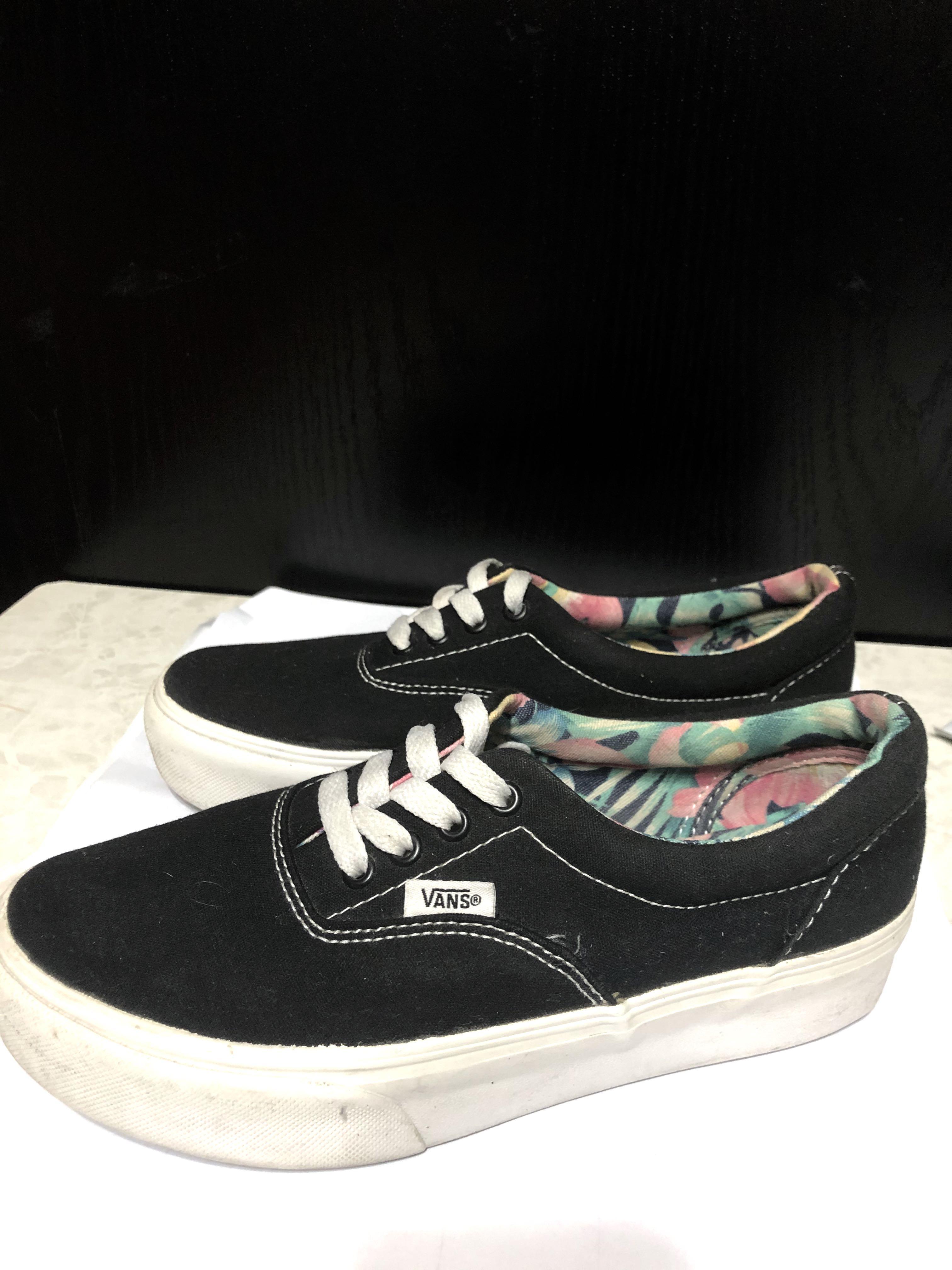 購自日本Vans platform Shoes EUR37, 女裝