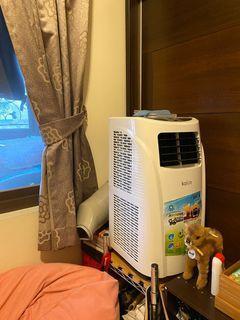 歌林移動式冷氣  空調加除濕 (家用110V)