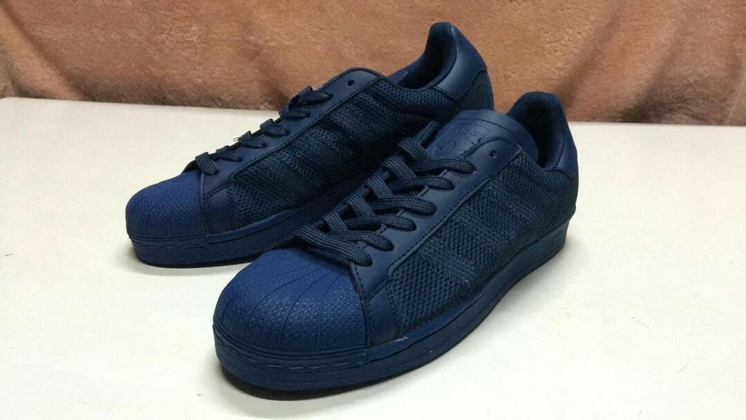 Adidas Superstar mesh BLUE, WHITE