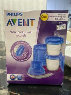 Avent Storage Cups (10 cups + 5 extra)