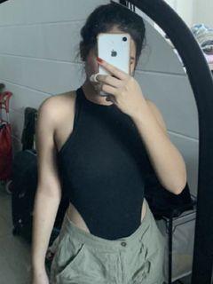 Bodysuit in Black