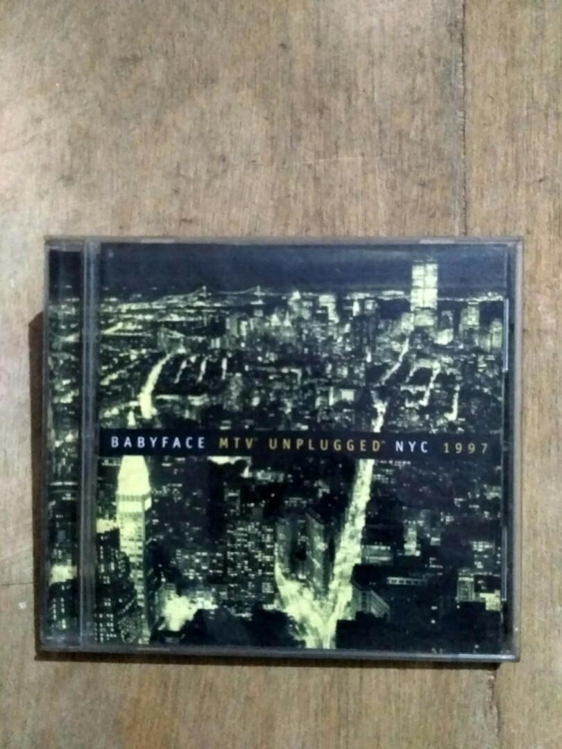 CD original Babyface - MTV Unplugged NYC 1997