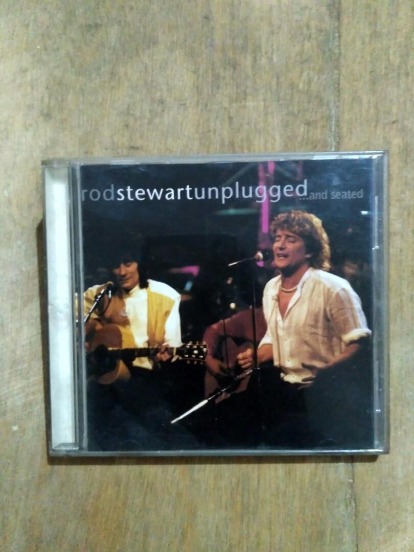 CD original Rod Stewart - Unplugged